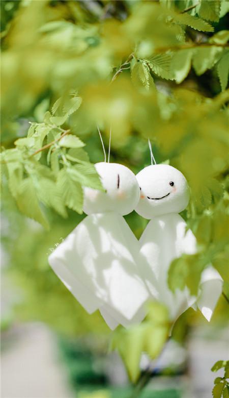 晴天娃娃唯美手机壁纸 可爱的晴天娃娃的寓意和象征