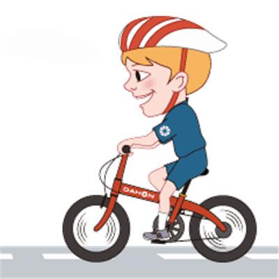 骑自行车表情图片 骑自行车自驾游表情包大全