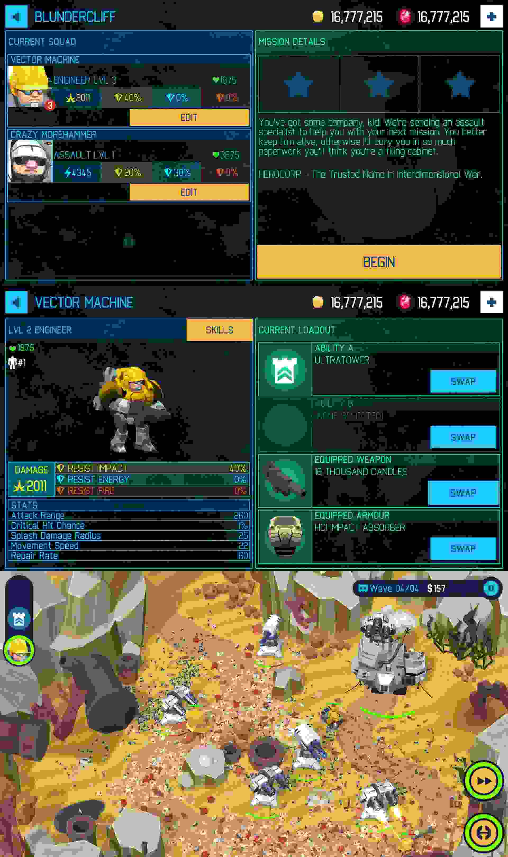 3D塔防游戏无限钻石版